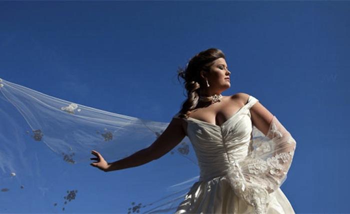 Bride in Las Vegas