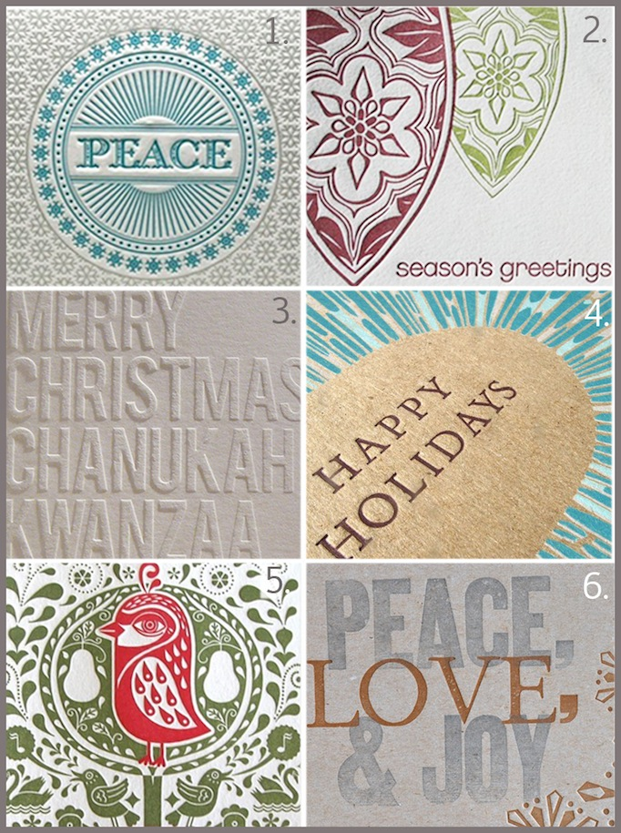 Holiday Card Round Up 2011