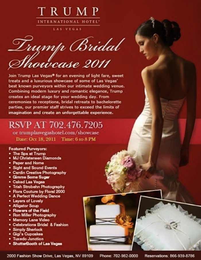 Trump Las Vegas Bridal Showcase 2011