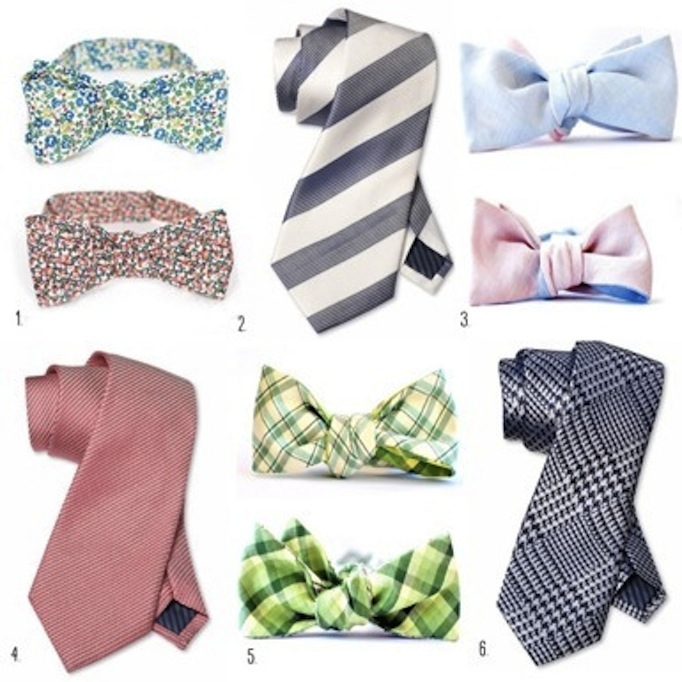 Grooms Wedding Ties and Bowties