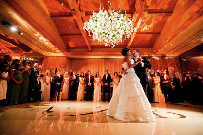 Husband and Wife Dance at Pelican Hill