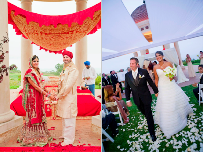 Multicultural Sikh and Hebrew Wedding Ceremony