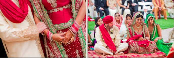 Sikh Indian Wedding Ceremony