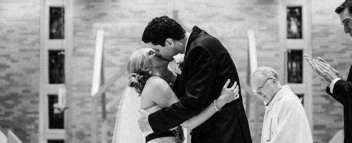 Tara and Bryan Kiss