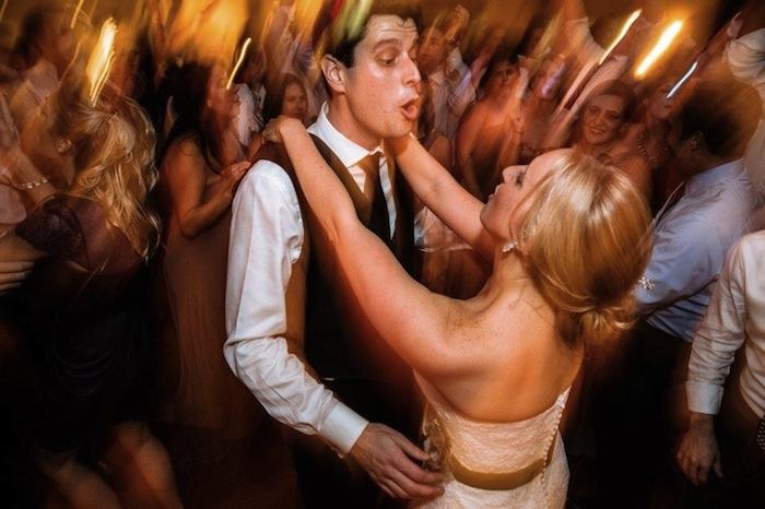 Tara and Bryan Dancing