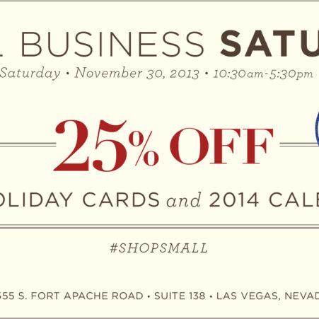 Small Business Saturday Las Vegas