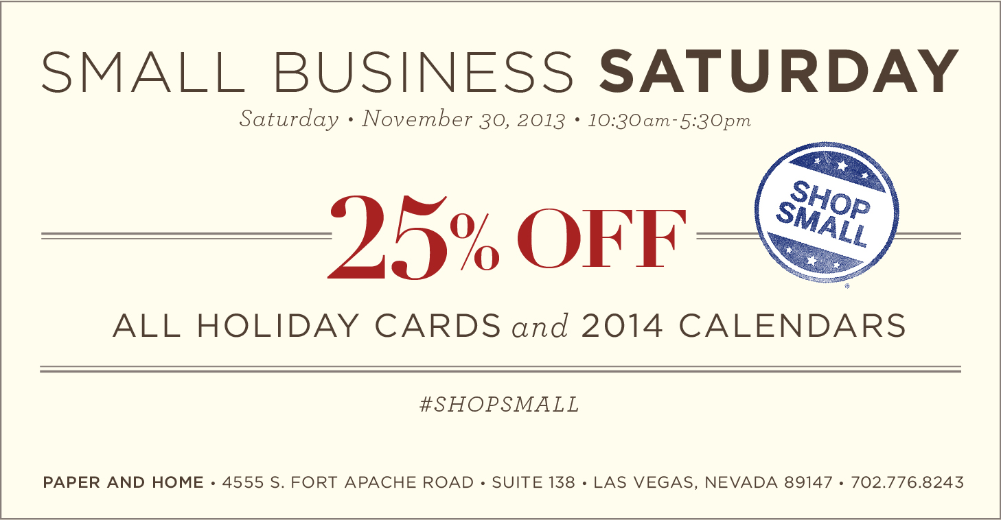 Small Business Saturday Las Vegas
