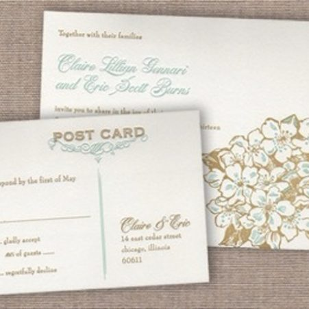 Wedding Reply Postcard