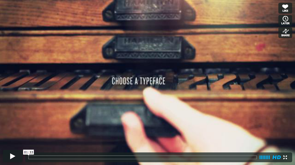 The Art of Letterpress