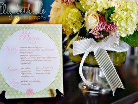 Baby Shower Brunch Menu