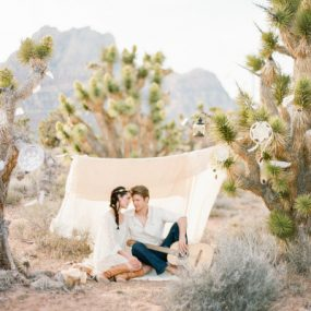 Las Vegas Desert Engagement Session