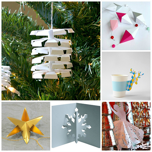 Christmas Paper Crafting Ideas