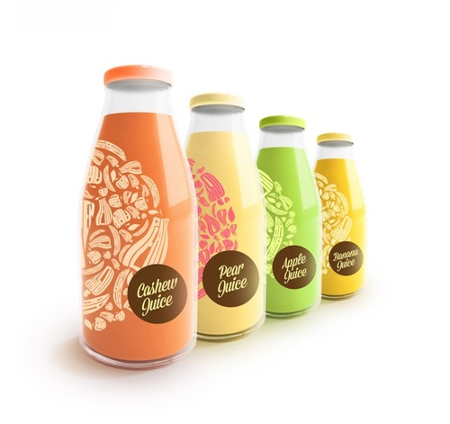 Modern Juice Packaging