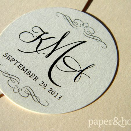 Classic Monogrammed Seal