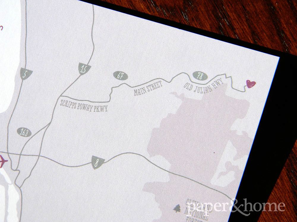 Purple and Gray, Cute and Modern Hand-Drawn Map Detail