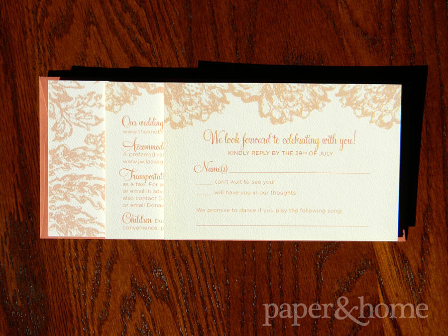 Wedding Invitations Las Vegas Zhane Alejandro Paper And Home