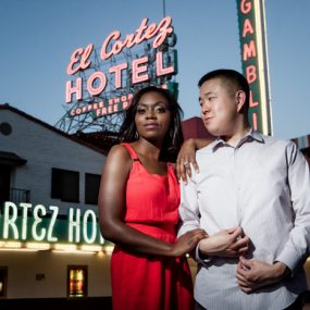 Marquita and Simon El Cortez Engagement Photos