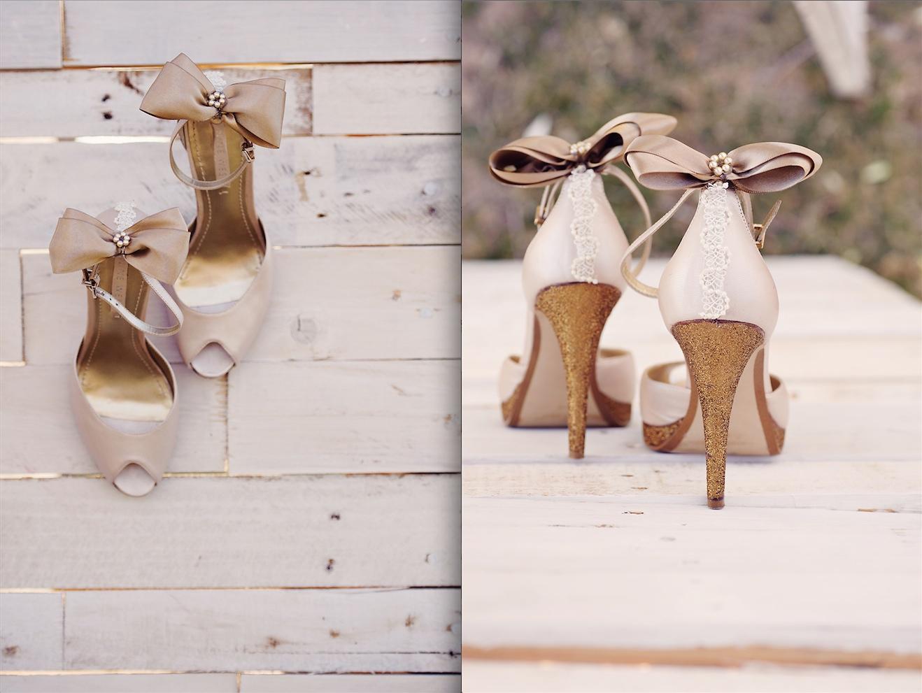 Enchanted Garden Wedding Ideas Shoes