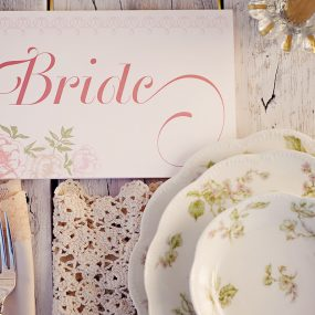 Enchanted Garden Wedding Ideas Bride Sign