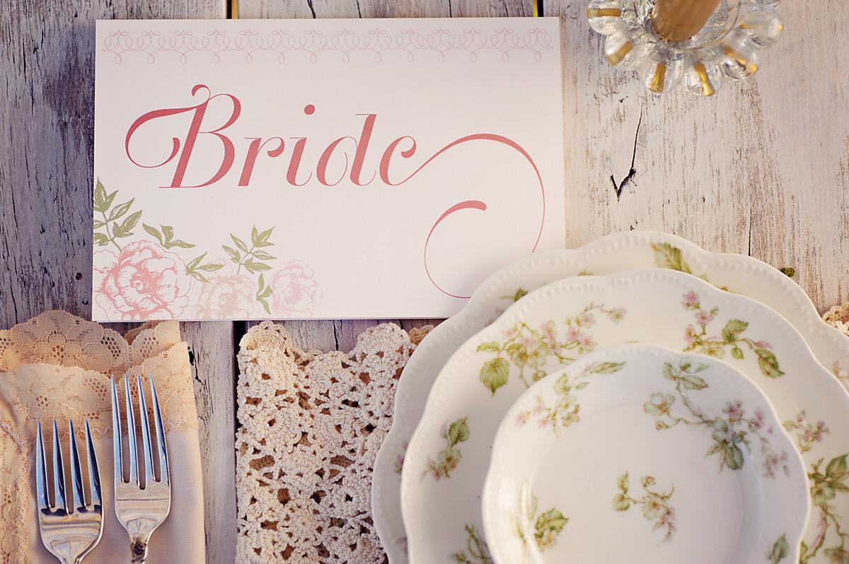 Enchanted Garden Wedding Ideas Bride Sign