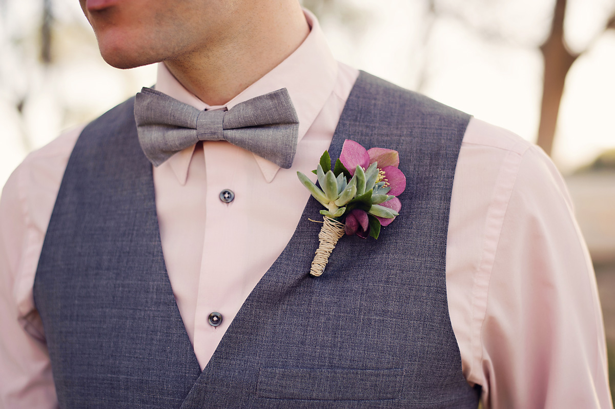 Enchanted Garden Wedding Ideas Boutonniere