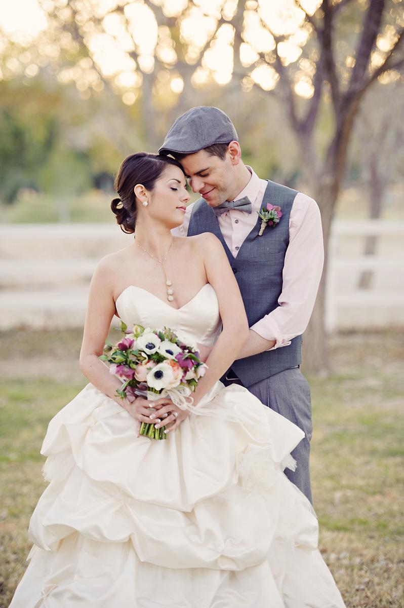 Enchanted Garden Wedding Ideas Bride and Groom