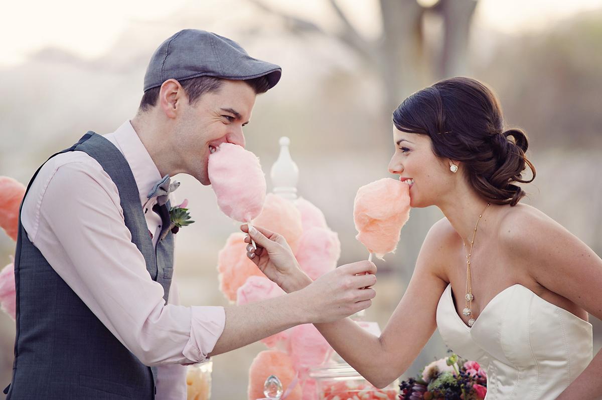 Enchanted Garden Wedding Ideas Cotton Candy