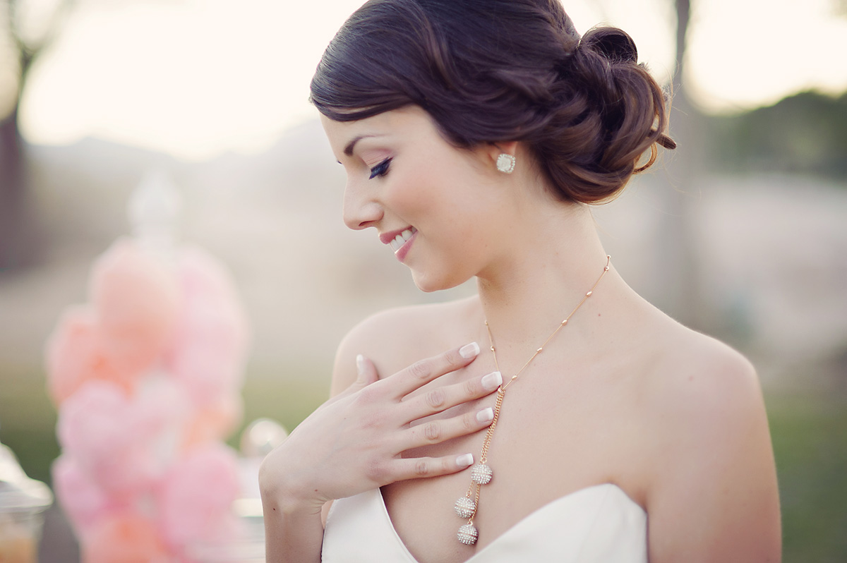 Enchanted Garden Wedding Ideas Bride Jewelry