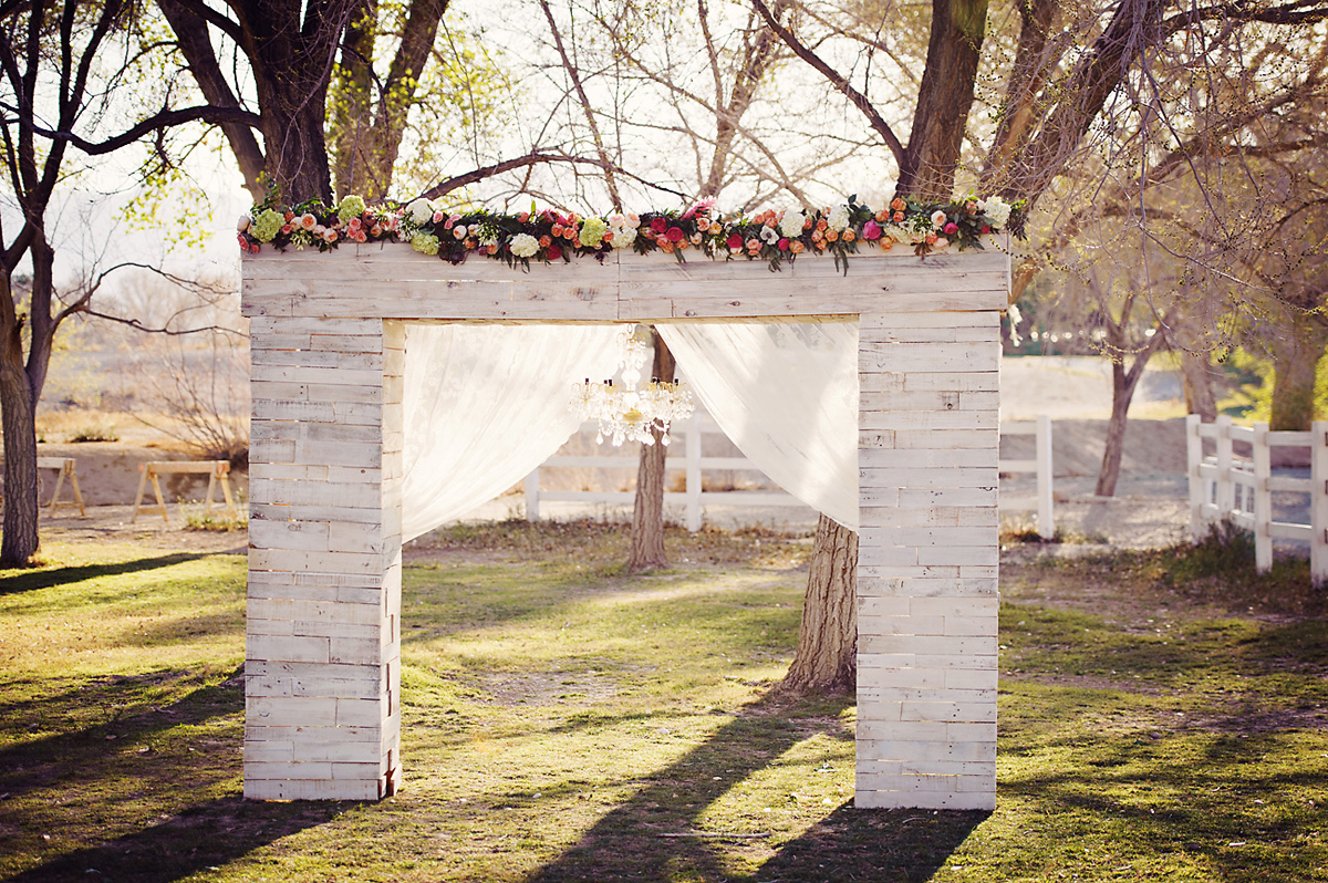Enchanted Garden Wedding Ideas Chandelier