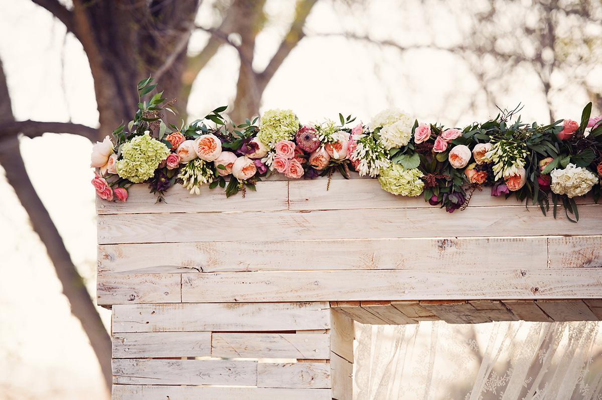 Enchanted Garden Wedding Ideas Chuppah Flowers