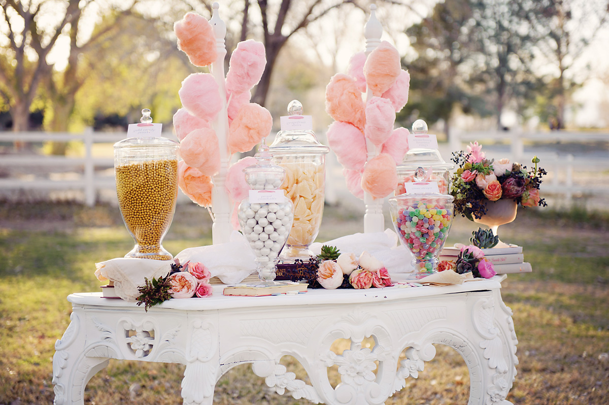 Wedding Candy Photography: Enchanted Garden Wedding Ideas Featured On Wedding Chicks