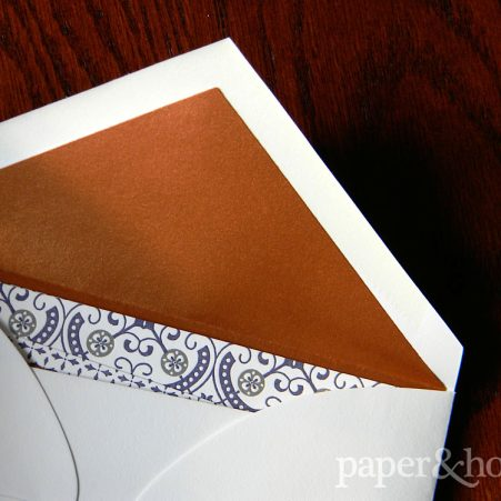 Copper Foil Envelope Liner