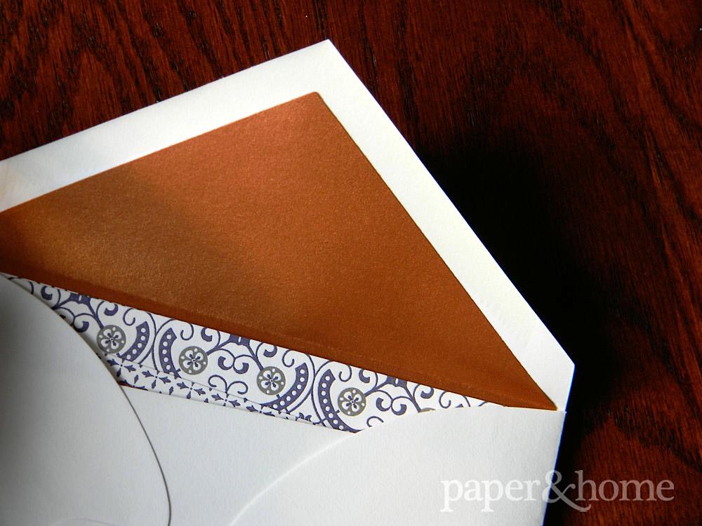 Copper Foil Envelope Liner