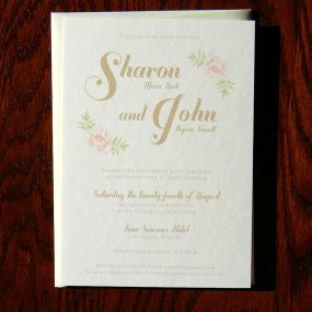 Inspired Vintage Wedding Invitation Four Seasons Las Vegas