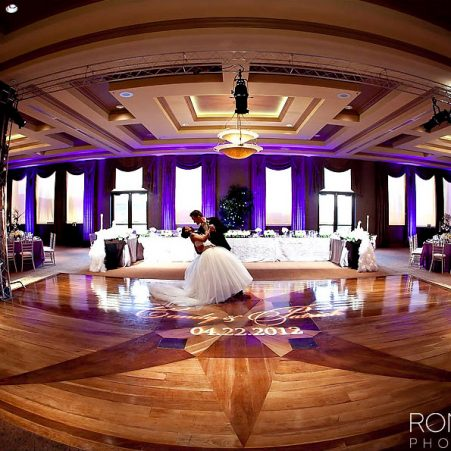 DragonRidge Country Club Wedding Reception Dance Floor Ron Miller Photography