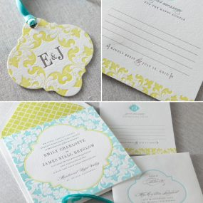 letterpress wedding invitations las vegas dauphine press camille suite