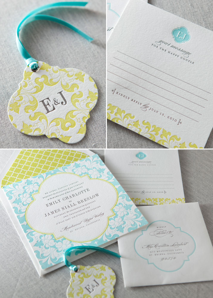 letterpress wedding invitations las vegas dauphine press camille suite