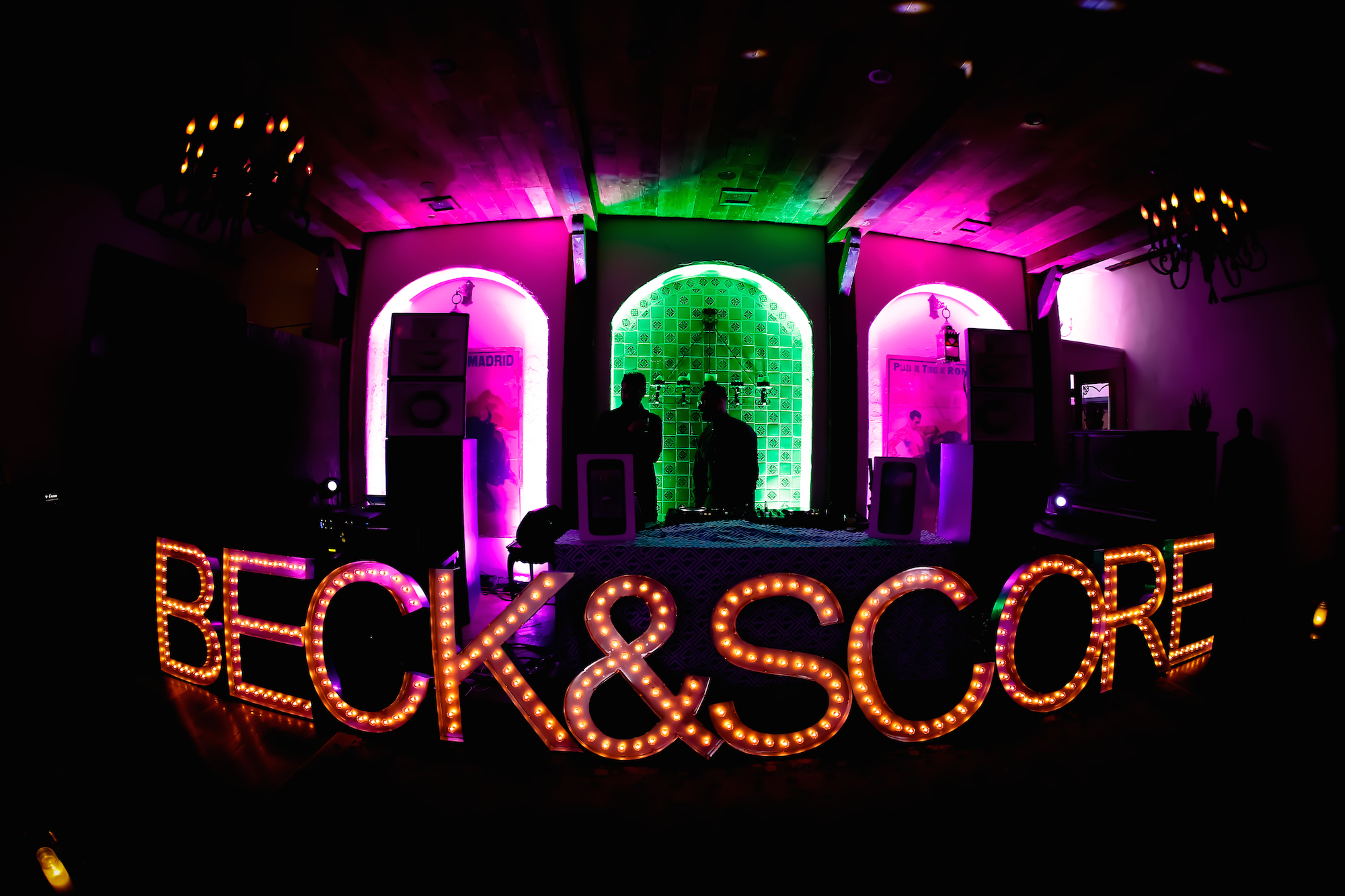 Beck & Score FIFA World Cup 2014 Launch Party Sign