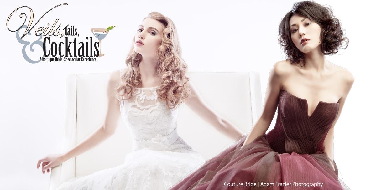 Veils Tails Cocktails Las Vegas Elegant Bridal Show Paper