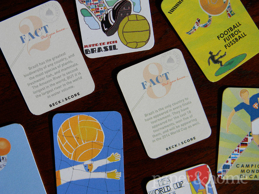 Brazil Fact Cards