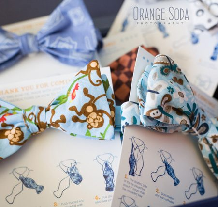 bow tie theme baby shower stationery paper