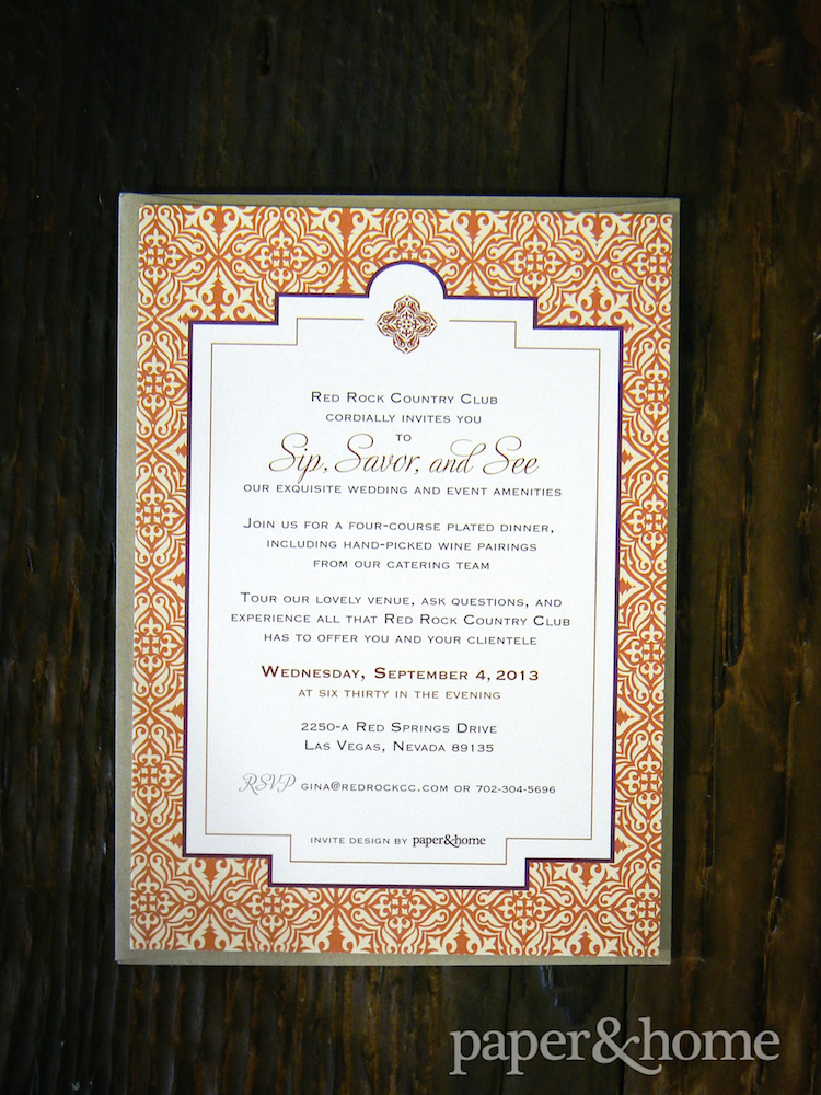 Corporate Invitations Las Vegas