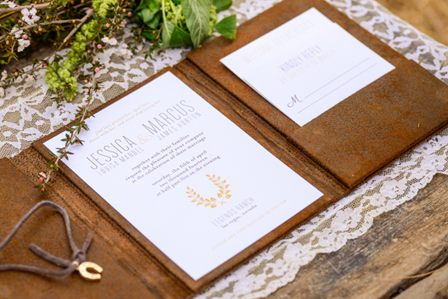 western wedding invitations featured on fab you bliss - paper and home, Wedding invitations