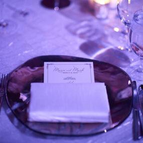 Wedding Menu Cards Las Vegas