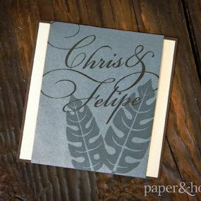 gay wedding invitations
