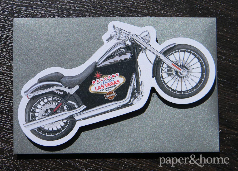 Harley Davidson Corporate Invitations
