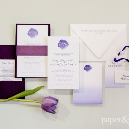 monifah and terez LGBTQ wedding stationery