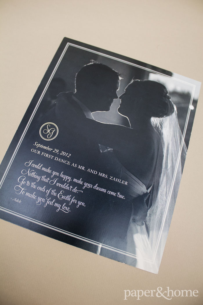1 Year Wedding Anniversary Print