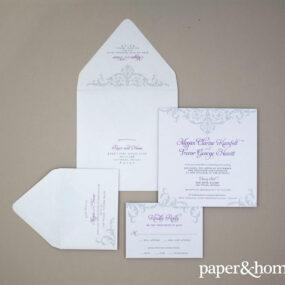 ornate wedding invitations