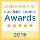 weddingwire couples choice awards 2015 badge